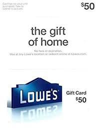 lowe s 50 gift card