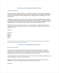 Request Reference Letter Sample Professional Reference Letter 6 Documents In Pdf Word