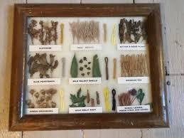 Navajo Dye Chart Navajo Rug Weavers Dye Chart Framed W Dried Plants Dyed Wool
