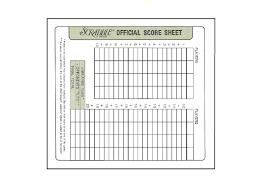 Scrabble Score Sheet Printable Scrabble Score Sheet Nice Pinterest Scrabble And Craft 7