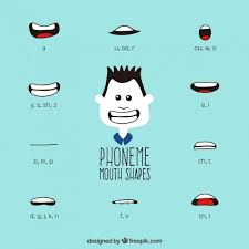 Phoneme Mouth Chart Phoneme Mouth Shapes Vector Free Download