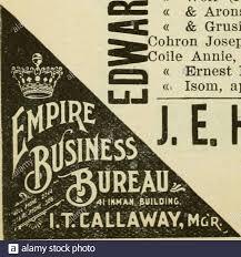 Atlanta City Directory . r 163 Jett « James L (Elizabetli), molder Atl  Stove Wks, r 53 Randolph?^ « John H (Lillian), conductor, r 19 Bradley^ «  John J (Agnes), (Coggins &