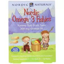 Nordic Naturals <b>Nordic Omega-3 Fishies Yummy</b> Tutti Frutti Taste ...
