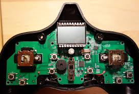 reverse engineering a hubsan x quadcopter part hacking the pcb top small
