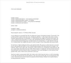 How To Format A Letter Of Recommendation For A Student 10 Letter Of Recommendation For Student Pdf Doc Free