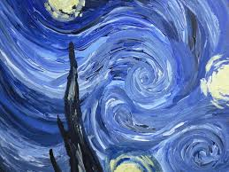 starry night by vincent van gogh trista style by prithvi enoch