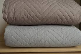 Bedspreads & Quilts | Bedding | Natural Bed Company & Chevron Design – Stitched and Quilted Bedspreads Adamdwight.com