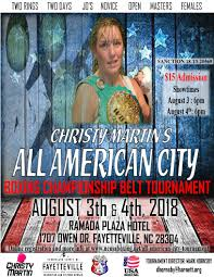 christy martin s all american city chionship