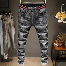 Expensive Mens Designer Jeans 2019 2020 Luxury Mens Designer Jeans Mens Designer Ripped Elastic Denim Men Biker Jeans Zipper Ripped Pants Size 29 38 From Qq3210923862 13 2
