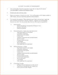 highschool autobiography invoice template autobiography examples for highschool students bibliography example