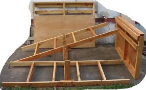 bed frame how to build a captains bed frame plans diy free on combine