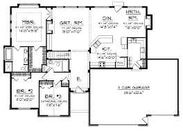 open house plans. Modren Open Traditional Ranch With Open Floor Plan In House Plans G