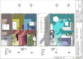 Plan Maison Moderne T4