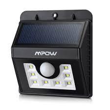 outdoor patio solar lights. Mpow® Solar Light 8 LED Outdoor For Garden, Patio Lights O
