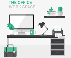 ergonomic office design. Workstation Ergonomic Desk Design Office N