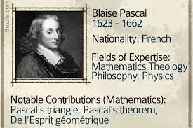 famous mathematicians who have left their impact on the world blaise pascal is credited building the first mechanical calculator pascaline of the 17th century he published an essay on conic sections using the