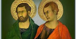 Resultado de imagen para Santos Judas Tadeo y Simón