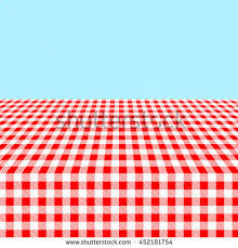 Tablecloth Pattern Custom Seamless Red White Tablecloth Pattern Stock Vector Royalty Free