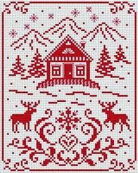 Christmas Cross Stitch Charts 3787 Best Christmas Cross Stitch Images In 2019 Cross