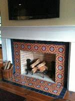 Decorative Tiles For Fireplace Backsplash TilesCeramic Decorative TilesDelft TilesArt Nouveau 13