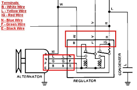 1983 toyota change the alternator three wires voltage regulator graphic