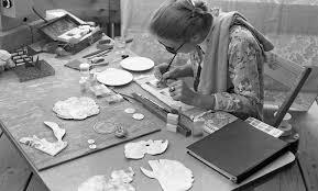 Priscilla Bowen At Artpark 1976 > Collection > Burchfield Penney Art Center