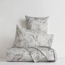 paisley duvet cover in cotton satin