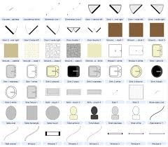 Drafting Symbols Architectural Drawings Stairs Pinned By Www Architectural Floor Plan Door Symbols