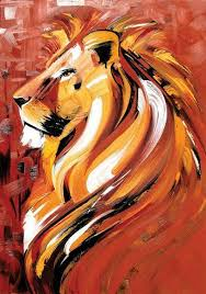 lion painting acrylic.  Lion I Love This Lion Painting It Would Make A Beautiful Tattoo Too Also  To See On My Wall On Lion Painting Acrylic Pinterest