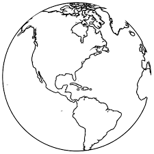 Earth Globe Coloring Page Wecoloringpage 068