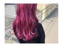 派手髪やっぱり栗栖はピンク At Fmnadco0 美容室
