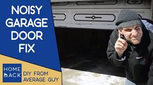 loud garage door opener