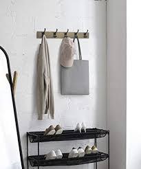 basics wall mounted modern coat
