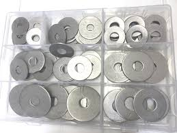 Large Washers 100 A4 Marine Stainless Large Penny Repair Washers 8mm 10mm 12mm X