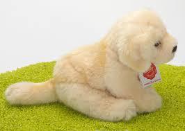 Plüschtier Hund Golden Retriever Weiß 15cm