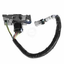 ford 4 7 pin trailer tow wiring harness w plug bracket for f250 image is loading ford 4 amp 7 pin trailer tow wiring
