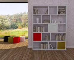 office shelving unit. Modern TemaHome Berlin 5 Level/150 Cm Shelving Unit In Oak Or White, Office C