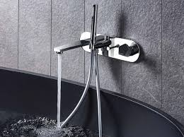 bathtub mixer with diverter with hand shower park bathtub mixer with hand shower by newform