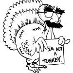 Small Picture coloring pages of funny turkeys best photos of funny turkey