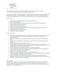 Administrative Assistant Duties Resumes Appointment Setter Resume Appointment Setter Job Description For