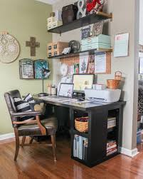 Craft office ideas Sewing Ideas And Incentive To Organize Your Home Craftoffice Space Sweet Parrish Place Ideas And Incentive To Organize Your Home Week 2 Craftoffice