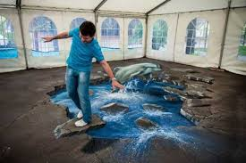 floor paint ideas3d Art by Joe Hill Reinventing Modern Floor Painting and