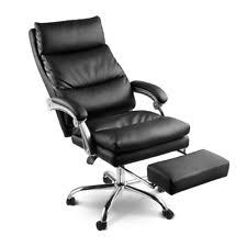 office reclining chair. Plain Reclining 2Layered High Back Executive Office Chair Reclining Leather Management  Footrest Intended Chair