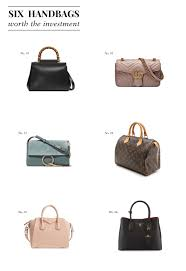 Designer Purse Collage Six Handbags Worth The Investment Hello Adams Family