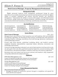Resume Sales Manager Hotel Resume For Study