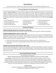 Electricalgineering Manager Sample Job Description Free It Resume