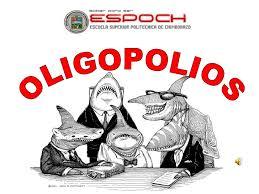 Resultado de imagen de oligopolio