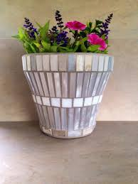 mosaic flower pots for grand palace beautifully designed chinese bangkok diy preparing terra cotta home decor