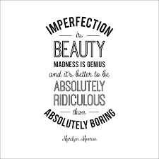 Marilyn Monroe Quotes Imperfection Is Beauty Best Of Imperfection' Marilyn Monroe Quote Wall Sticker By Leonora Hammond
