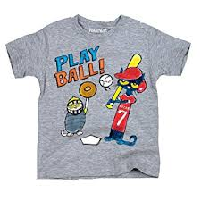 amazon pete the cat licensed book character baseball play ball youth t shirt clothing